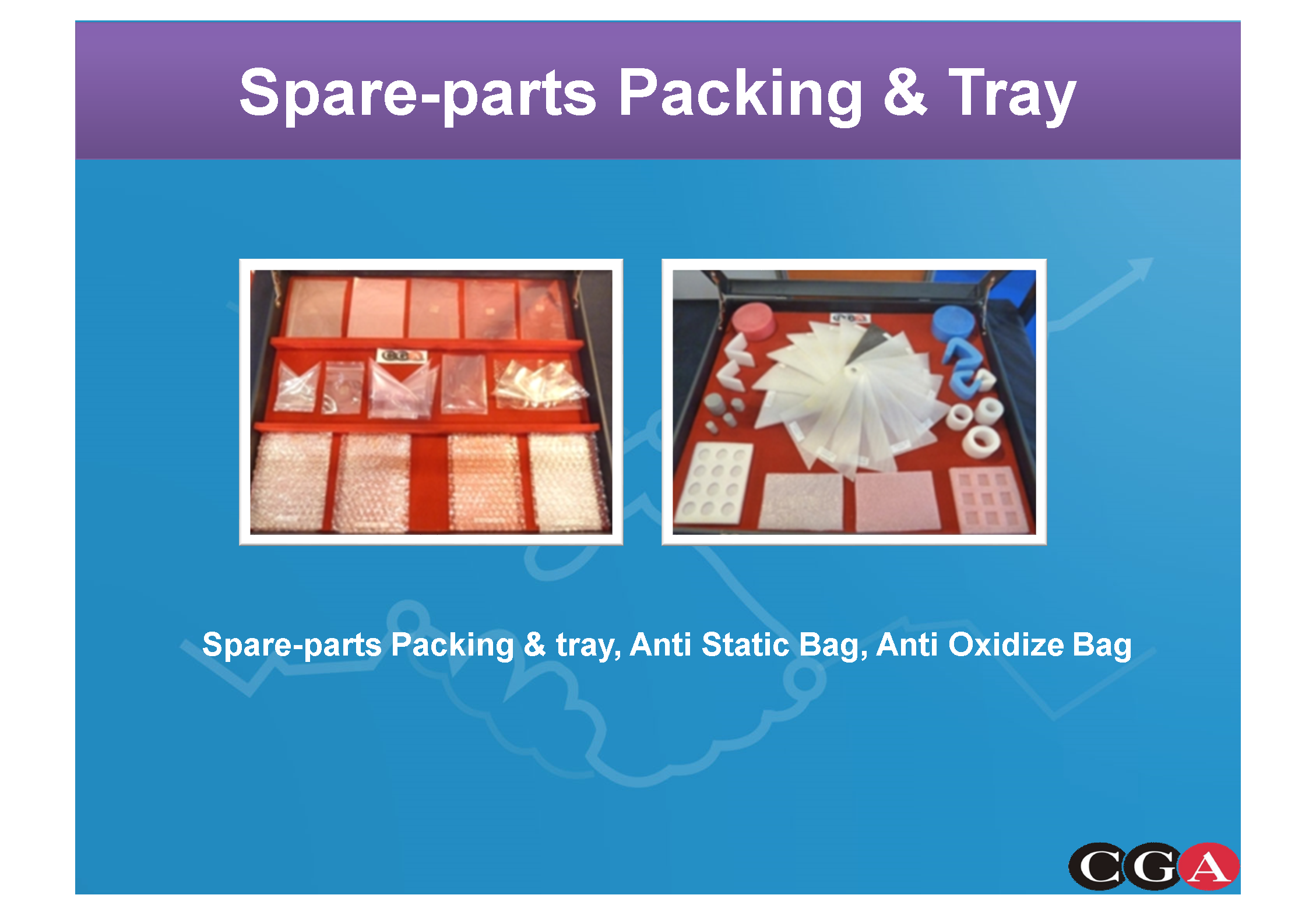 SPARE-PARTS PACKING&TRAY